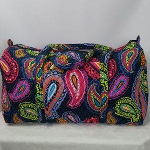 Vera Bradley Bags - New Vera Bradley Twilight Paisley Duffel Large 1096237983f0a